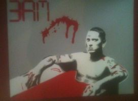 3AM IN THE MORNING EMINEM by Stencils-by-Chase