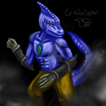 Galulator speedpaint by NobleKatana