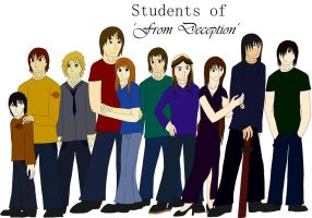 Students of 'From Deseption' by alicesapphriehail
