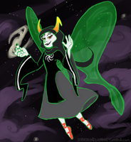 Kanaya. In. SPAAAAAAAACE! by zynwolf