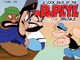 Mr Coat - Look Back at the Popeye Color Specials by qwertypictures