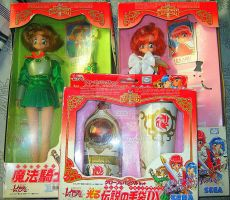 Rayearth doll toy set for SALE by shesxmagic