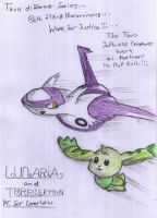 Lunaria and Terriermon Fight for Justice by Artooinst