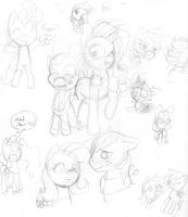 Pony Sketches N Doodles 2 by Lolly-pop-girl732