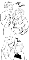 Preggers Request by GingerQuin