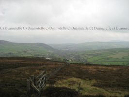 IOM Looking Over Foxdale by Duamuteffe