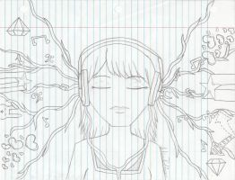 My Music by Notebook-Queen