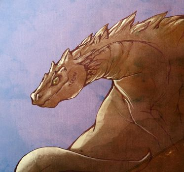 King of the monsters by cursed-sight