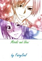 Usui and Misaki -colorization by FairySoul- by Na-tsu-na27