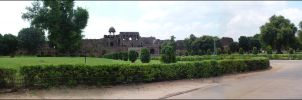 Panoramic Old Fort by anujdhingra