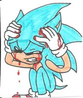 Sonic: Living in a nightmare by cmara