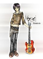 Kei: bassist - coloured by back2life