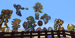 Minecraft Charater Pixel Art by FirePhoenix360