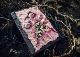 necronomicon blank sketchbook by dogzillalives