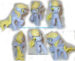 Derpy Hooves Custom FiM Pony by mayanbutterfly