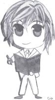 Chibi Light from Death Note by U-Nica
