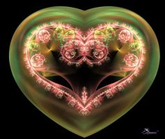 Fractal Heart 5 by aremco7