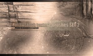 Mawstock Texture Brushes Set 2 by mawstock