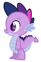 Twilight Spike by Durpy