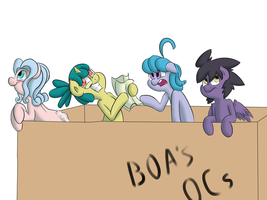 Box of OCs by deoix