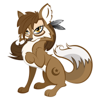 Wolf (MLP:FiM Style) by lasellj