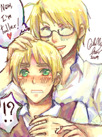 APH:Now I am taller by Klunatic