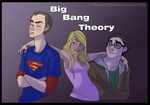 Gift art: Big Bang Theory by Emergencyuseonly