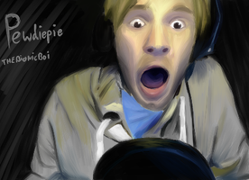 PEWDIEPIE reaction by THEBIONICBOI
