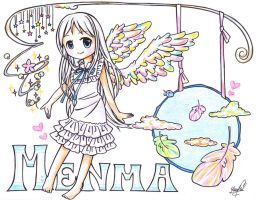 Menma by Colorful--Melody