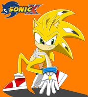 Sonic X: Static by Fuzon-S