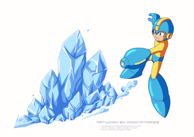 Megaman 8 - Ice Wave by innovator123