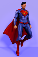 Injustice Gods Among Us - Superman [New 52] by IshikaHiruma