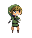 Chibi Link by megbug1anime