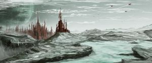 Landscape Stone City by 666M666D666