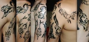 Completed Tattoo Amalgam Pic by keyblade5