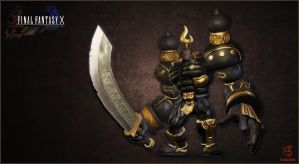 Iron Giant -- revamp from FFX by Shinsen