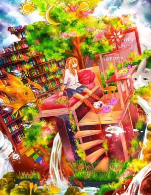 My Private Library by NilaNandita