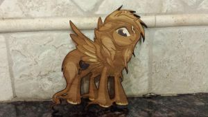 Teen Zanon - First Laser cut by Earth-Pony