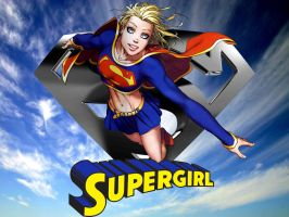 Supergirl wallpaper 2 by SWFan1977