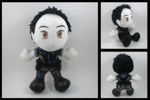 Mass Effect - Kaidan plushie by eitanya