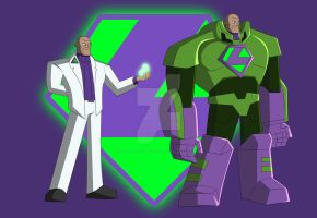 Cam's DCAU Lex Luthor by TheScarletMercenary