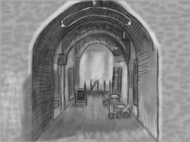 Art Academy: Archway Perspective by ChibiBeckyG