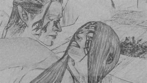 Aeducan and Zevran by Shaleene1