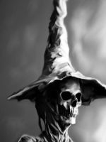 Skeleton Witch by Malla13