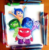 Inside out - ballpoint pens colors by Amar-yasser-med