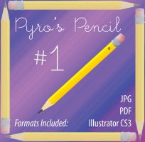 Pyro's Pencil 1 by PyroNsanity-Stock