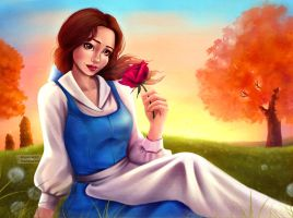 Belle (COLOR) by Asaminert