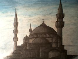 mosque by zlim-hyat