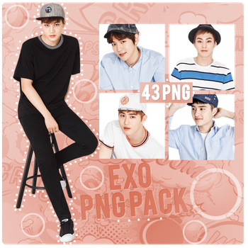 EXO PNG PACK by michiru92