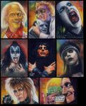 Assorted sketch cards by choffman36
